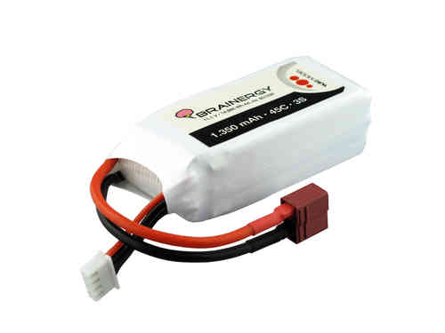 Brainergy LiPo 3S - 1.350 mAh 45C XT60
