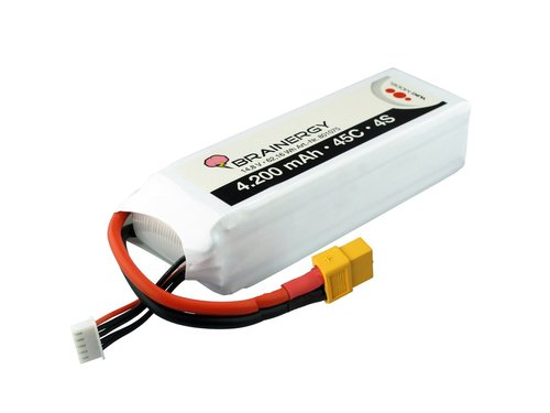 Brainergy LiPo 4S - 4.200 mAh 45C  XT60