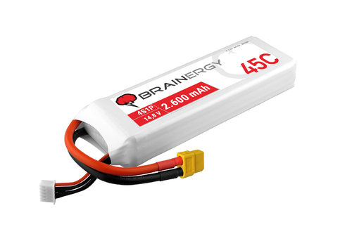 Brainergy LiPo 4S - 2.600 mAh 30C XT60