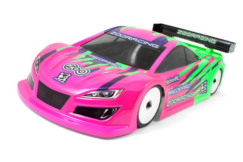 ZooRacing - PreoPard - 1:10 Tourenwagen Karosserie - 0.5mm LIGHTWEIGHT